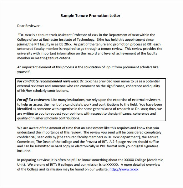 Sample Recommendation Letter for Promotion Lovely Sample Promotion Letter 15 Free Samples Examples