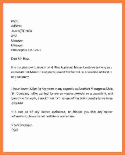 Sample Recommendation Letter for Promotion Luxury 9 Re Mendation Letter for Employee