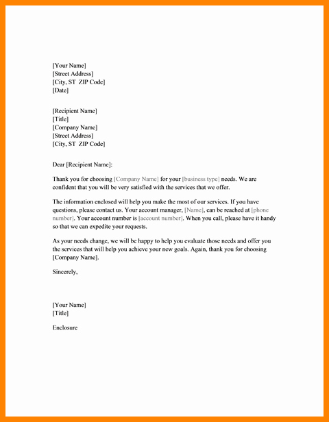 Sample Sales Letter to Potential Client Inspirational 6 Business Introduction Letter to New Clients