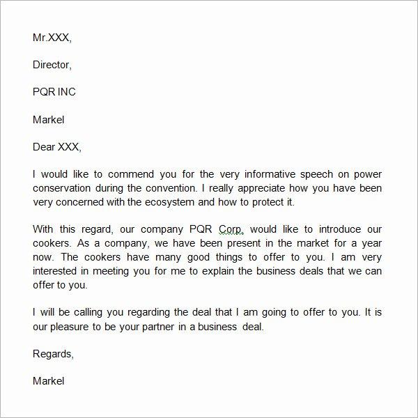 Sample Sales Letter to Potential Client Unique 21 Sample Business Introduction Letters Pdf Do9