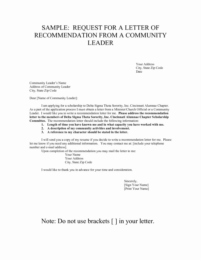 Sample sorority Recommendation Letter Lovely sorority Re Mendation Letter Sample All About Sample