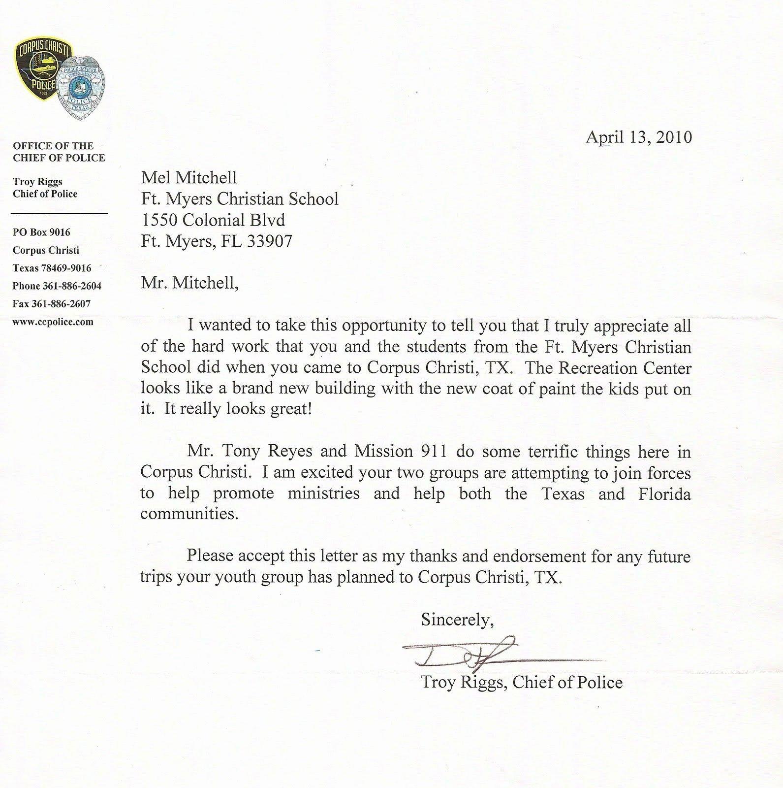 Sample Support Letter for Mission Trip Elegant Fmcs 2018 Missions Trip April 2010