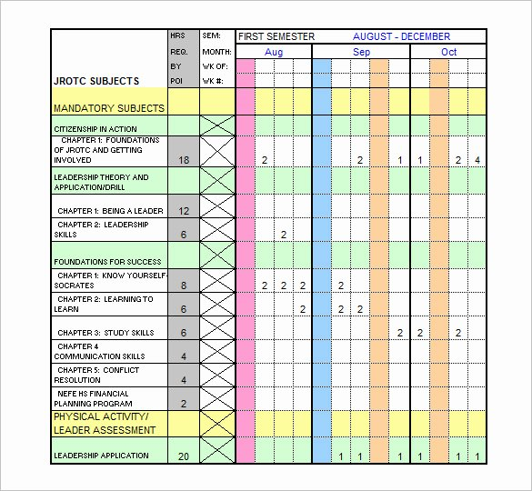 Sample Training Plan Template Lovely Training Schedule Template 7 Free Sample Example