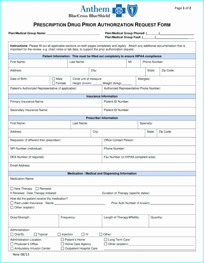 Sample Utility Easement Agreement Beautiful Bcbs Michigan Prior Authorization form