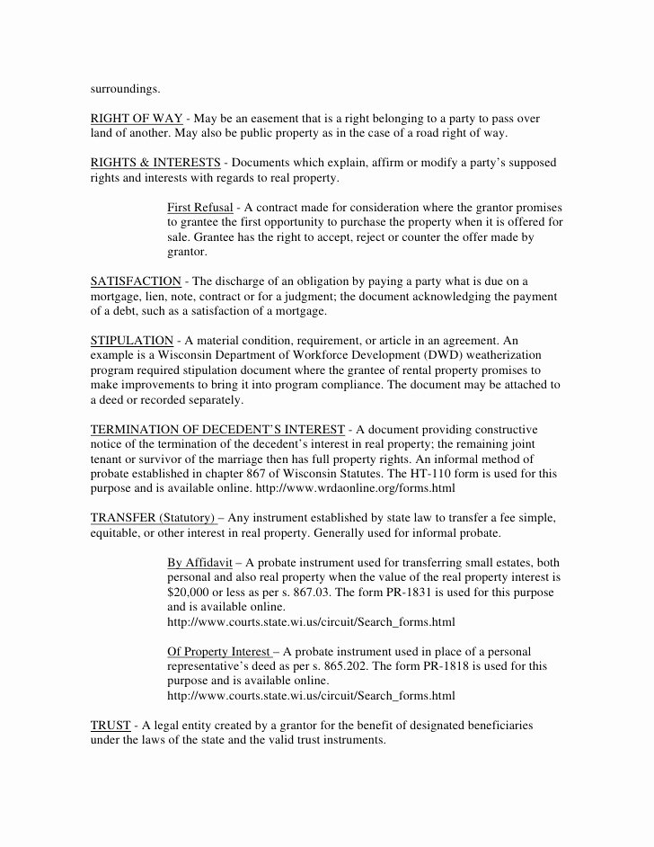 Sample Utility Easement Agreement Best Of Legal Document Real Estate