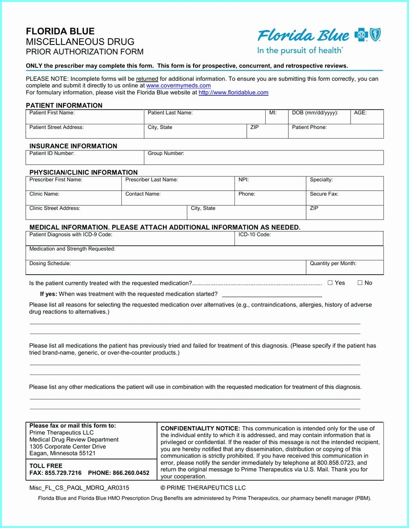 Sample Utility Easement Agreement New Bcbs Michigan Prior Authorization form