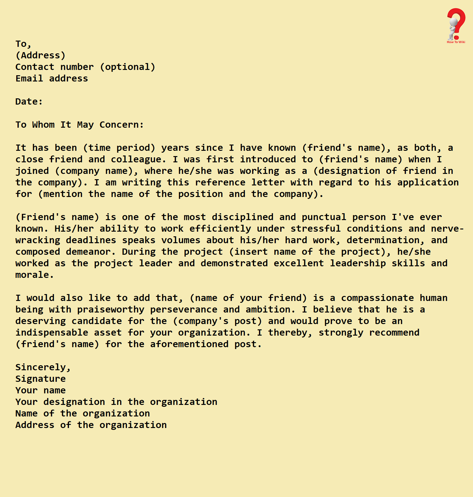 Scholarship Recommendation Letter From Friend New How to Write A Reference Letter for Scholarship