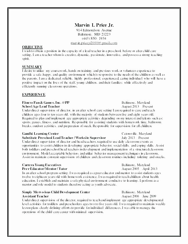 School Age Lesson Plan Template Best Of School Age Lesson Plans for Daycare – Powertation
