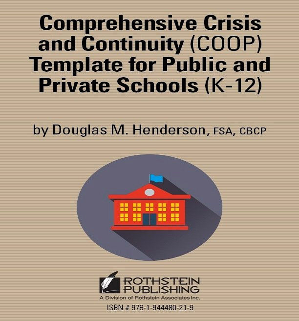 School Crisis Plan Template Unique Prehensive Crisis and Continuity Coop Template for