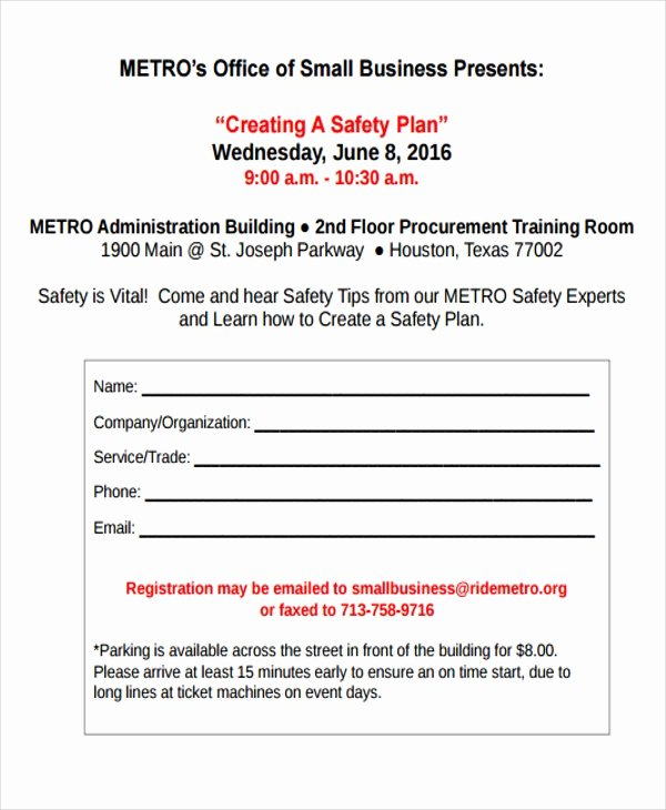 School Safety Plan Template Lovely 30 Safety Plan formats