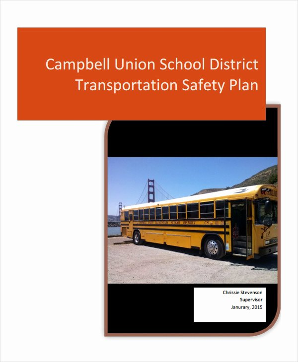 School Safety Plan Template Luxury 29 Safety Plan Samples