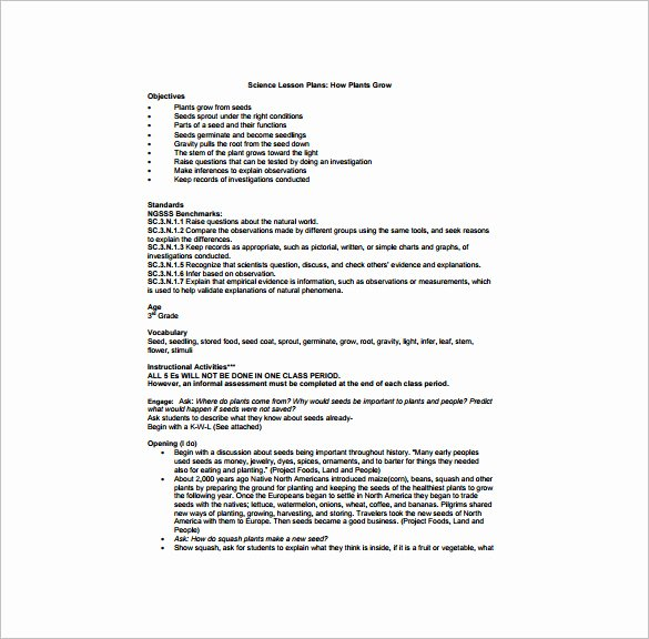 Science Lesson Plan Template Fresh Science Lesson Plan Templates Gecce Tackletarts