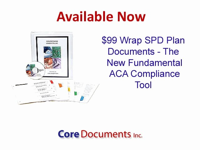 Section 125 Plan Documents Template Fresh Summary Plan Description Archives Core Documents