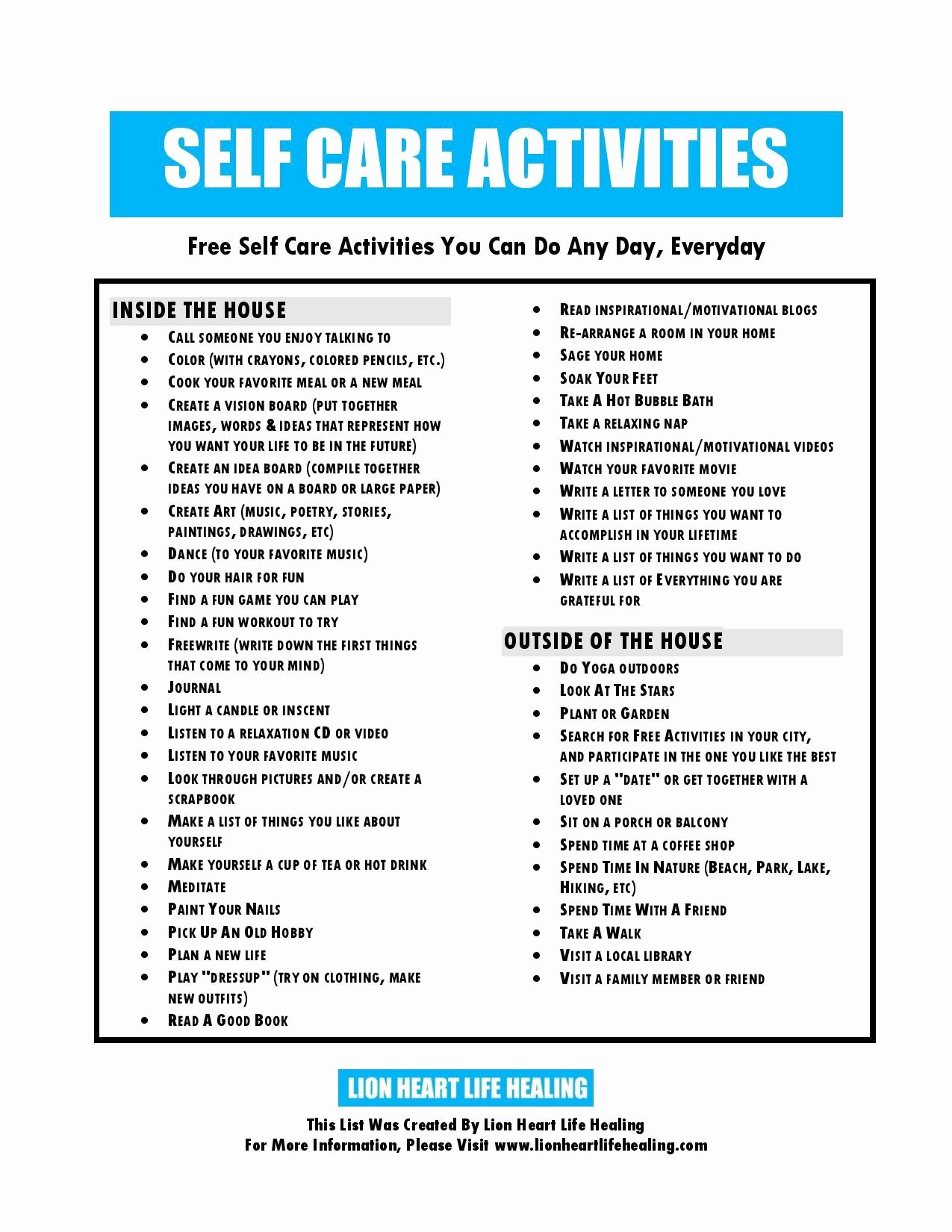 Self Care Plan Template Awesome Worksheet Self Care Worksheets Grass Fedjp Worksheet