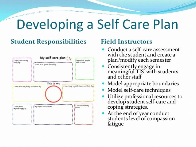 Self Care Plan Template Elegant Trauma Informed Clinical Supervision In the Field social