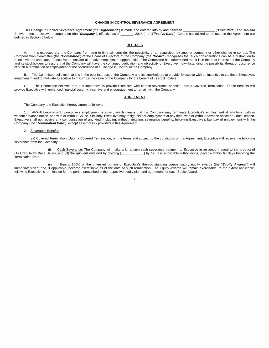 Severance Agreement Over 40 Template Unique Sample Severance Agreement