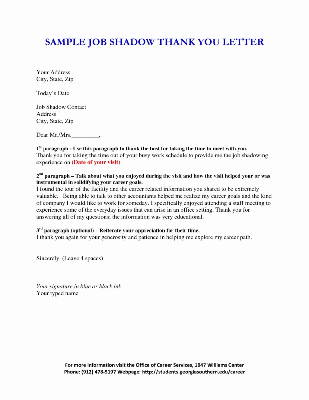 Shadowing Letter Of Recommendation Sample Best Of How to Write A Letter for Job Shadowing