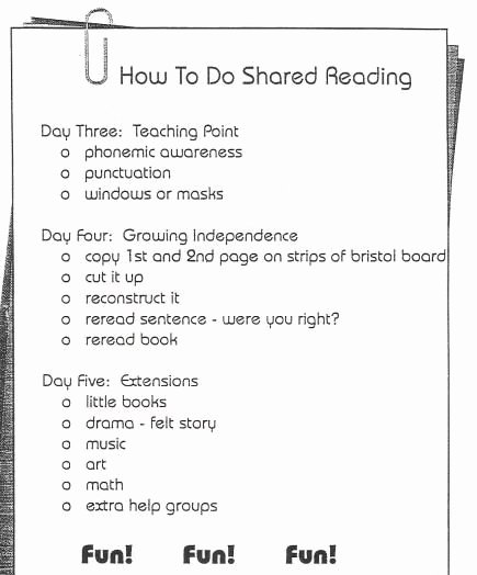 Shared Reading Lesson Plan Template Beautiful 17 Best Images About D Reading On Pinterest