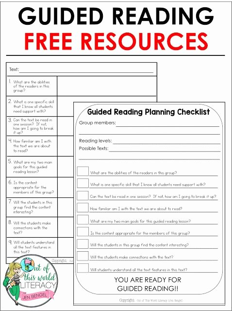 Shared Reading Lesson Plan Template Beautiful Guided Reading Guided Reading Groups and Essential