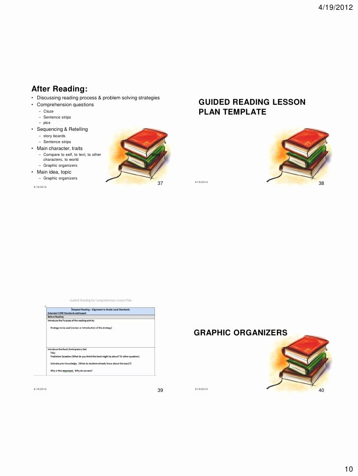 Shared Reading Lesson Plan Template Best Of D Reading & Guided Reading Tx 2012