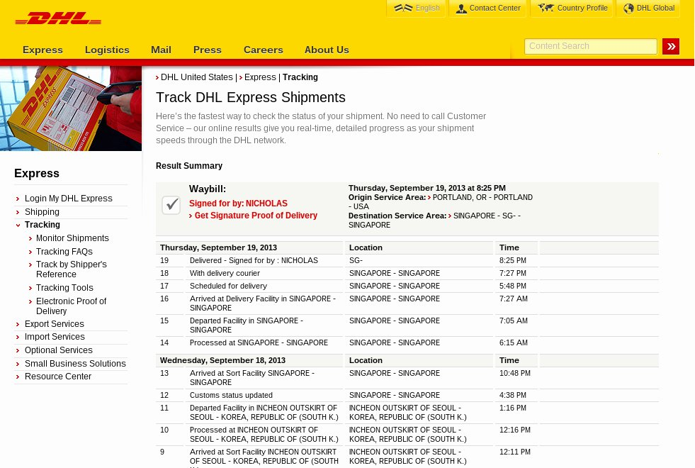 Shipper Letter Of Instruction Dhl New Dhl Shipment form and Consignment Note Domestic Waybill