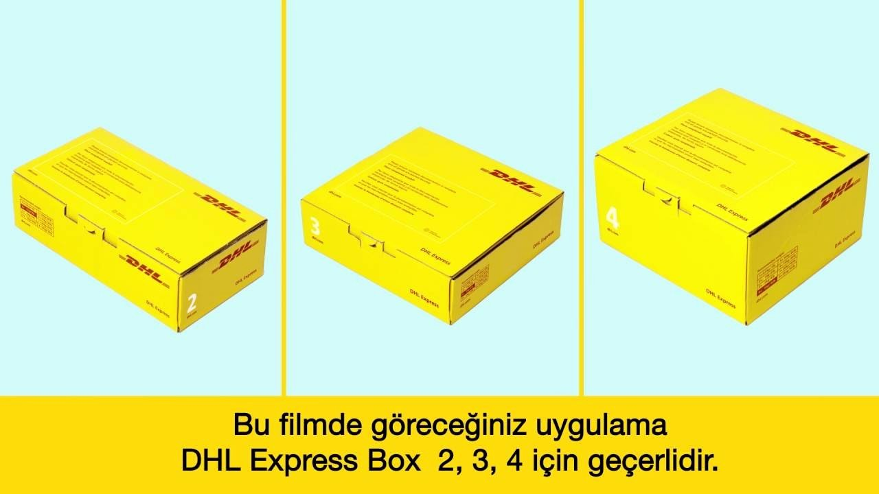 Shipper Letter Of Instruction Dhl Unique Dhl Packing Boxes Size Dhl Express Box Png