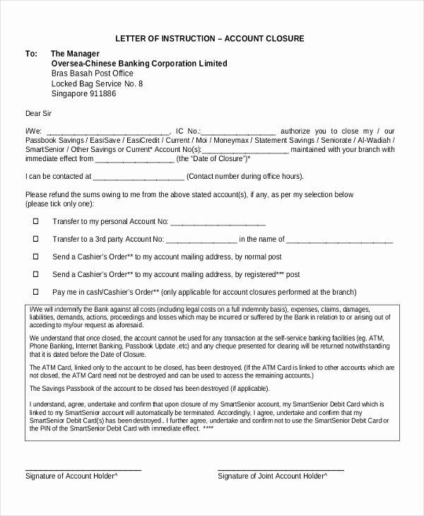 Shipper Letter Of Instruction format Elegant 13 Sample Letter Of Instruction Templates Pdf Doc