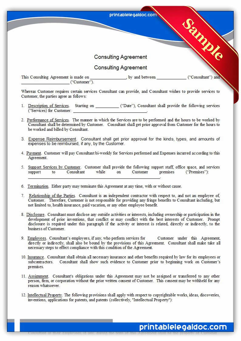 Short form Consulting Agreement Inspirational Agreement Consulting Agreement form Design Consulting