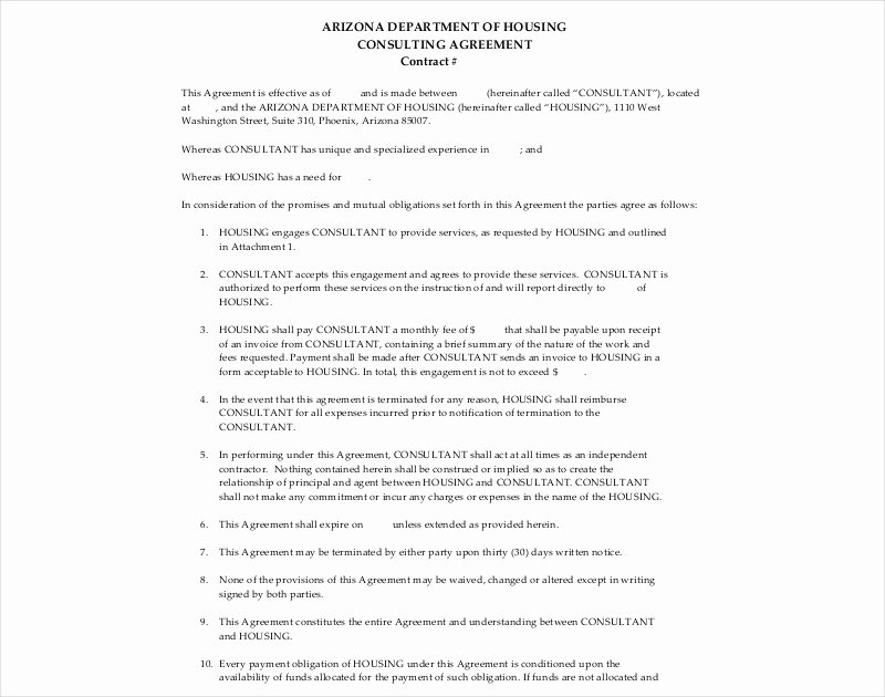 Short form Consulting Agreement Luxury 16 Consulting Agreement Examples Pdf Doc