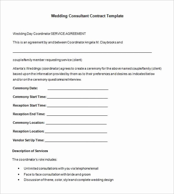 Short form Consulting Agreement Luxury 47 Contract Templates Word Docs Pages