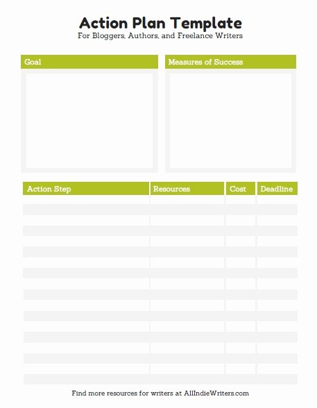Simple Action Plan Template Lovely 10 Effective Action Plan Templates You Can Use now