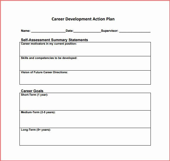 Simple Action Plan Template New Simple Business Action Plan Template for Career