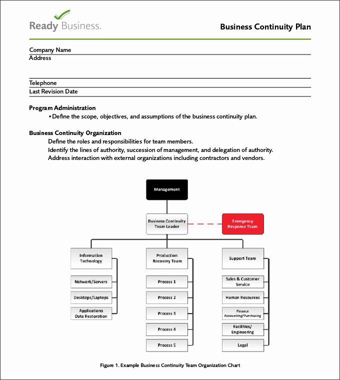 Simple Business Continuity Plan Template Luxury Business Continuity Plan Template 9 Free Word Pdf