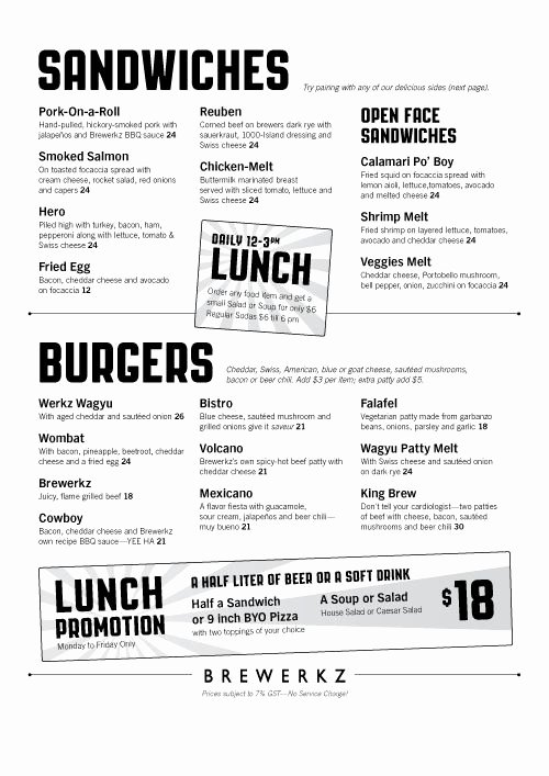 Simple Cafeteria Plan Template Best Of Condensed Lunch Menu Keynote