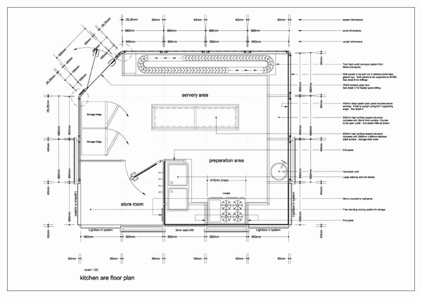 Simple Cafeteria Plan Template Fresh Image for Restaurant Kitchen Floor Plan Design Ideas