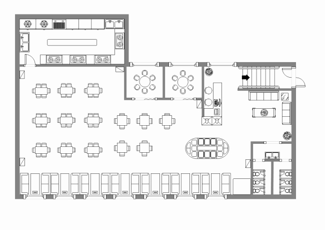 Simple Cafeteria Plan Template Luxury Canteen Design Layout
