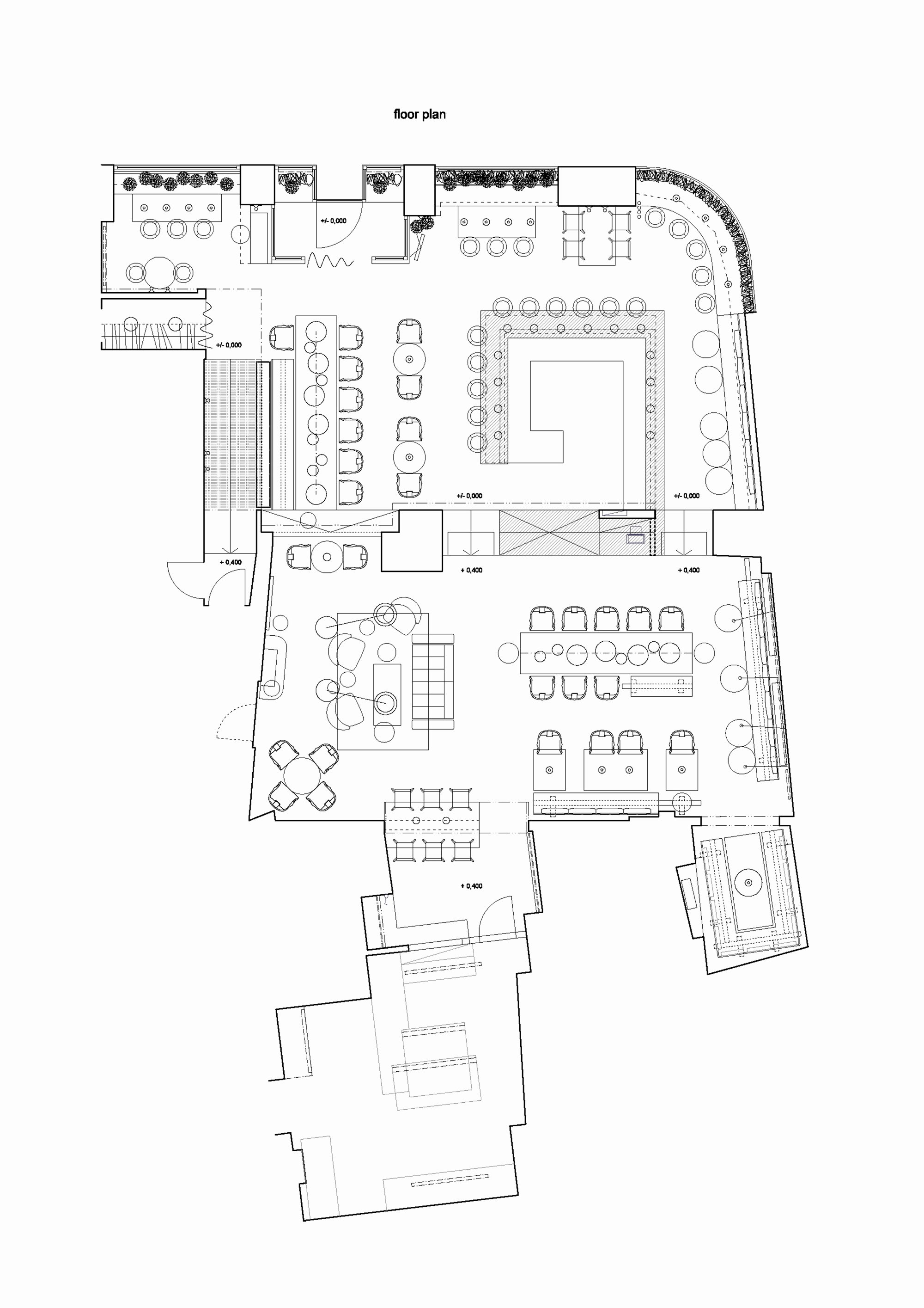 Simple Cafeteria Plan Template Unique Gallery Of Gran Fierro formafatal 17