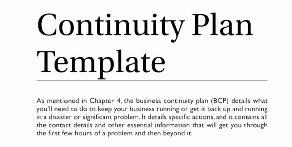 Simple Disaster Recovery Plan Template Beautiful Simple Disaster Recovery Plan Template Simple Business