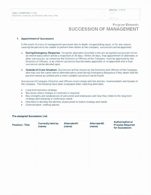 Simple Disaster Recovery Plan Template Unique Disaster Plan Template Emergency Response Plan Templates