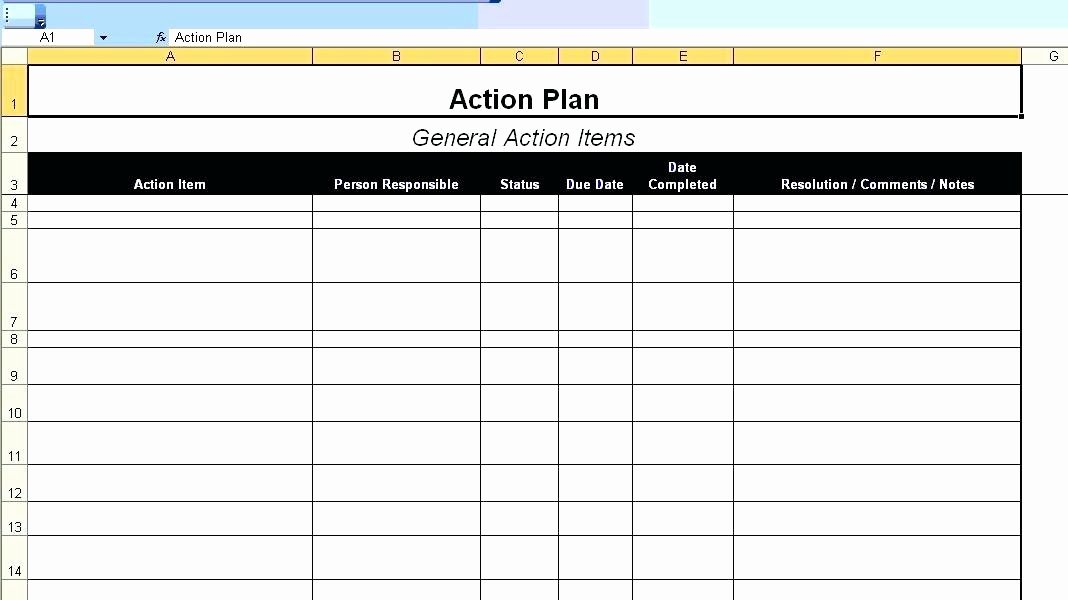 Simple Implementation Plan Template Lovely Action Plan Template Simple Project Implementation Maker