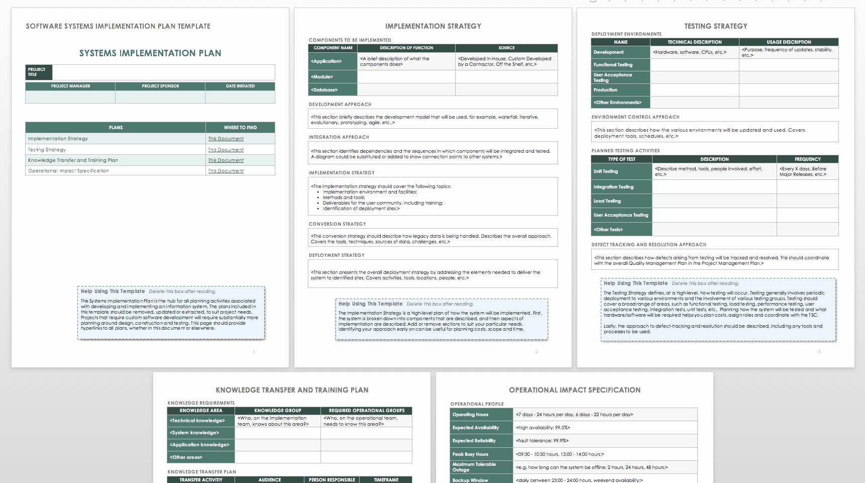 Simple Implementation Plan Template Luxury How to Create An Implementation Plan