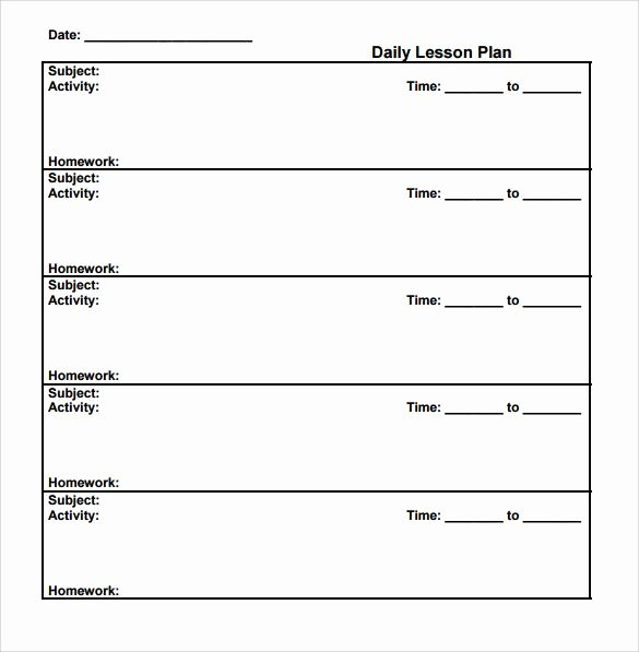 Simple Lesson Plan Template New Pin by Terri Bagby On School Activities