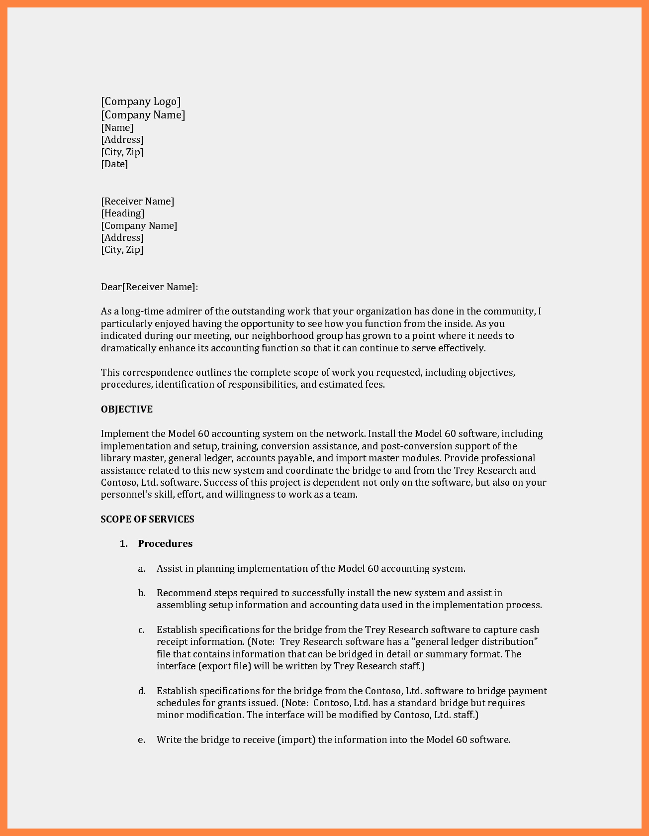 Simple Offer Letter format Elegant 11 How to Write A Simple Business Proposal