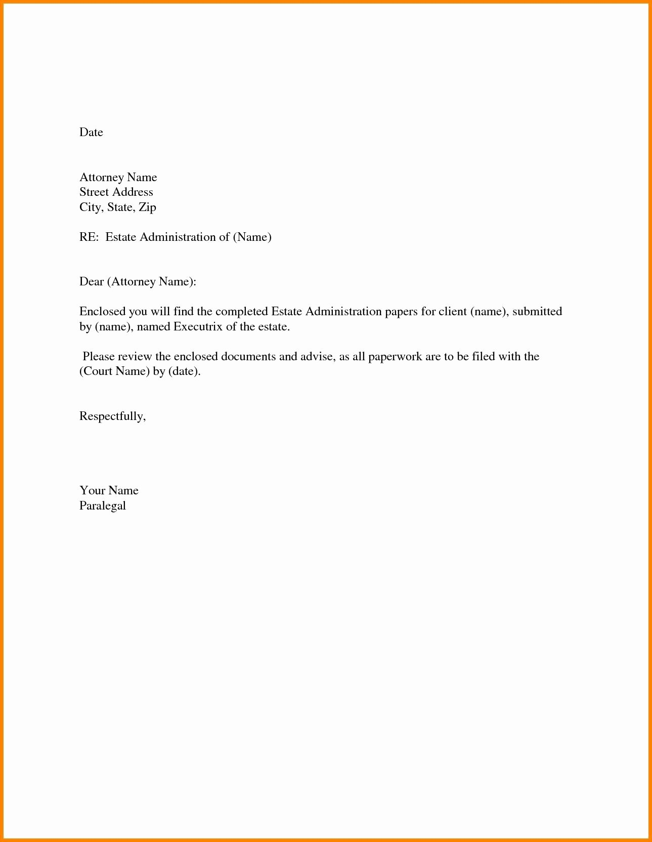 Simple Offer Letter format Inspirational 25 Simple Cover Letter for Job Application