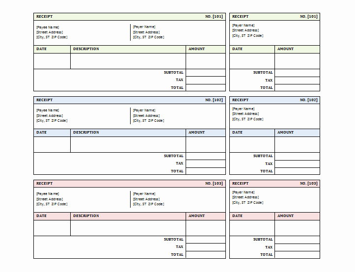 Simple Sales Receipt Template Beautiful 12 Free Sales Receipt Templates Word Excel Pdf