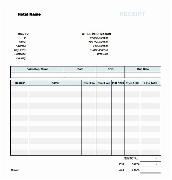Simple Sales Receipt Template Elegant 7 Sample Receipt Templates to Download