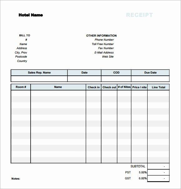 Simple Sales Receipt Template Elegant 7 Sample Receipt Templates to Download
