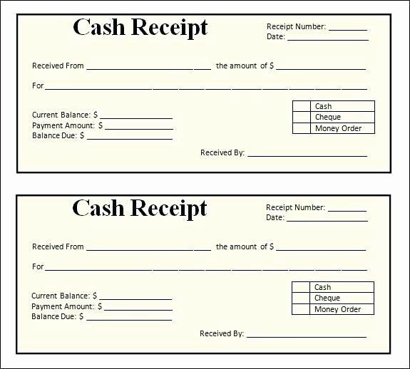 Simple Sales Receipt Template Fresh August 2018 – Entruempelungub