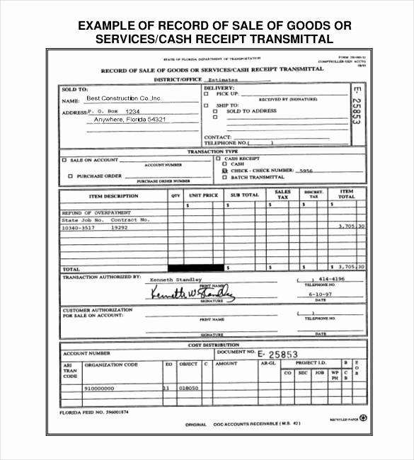 Simple Sales Receipt Template Luxury 28 Sales Receipt Templates Doc Excel Pdf