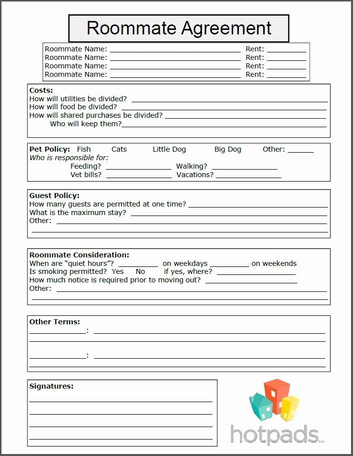 Simple Shared Well Agreement Best Of 15 Best Images About Printable forms On Pinterest